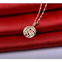 תליון ושרשרת שמע ישראל חיתוכי לייזר זהב 14 קראט - דגם ״10,005״