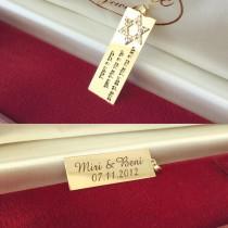 תליון לגבר - זהב צהוב \ לבן 14 קראט - תכשיטים לגבר - דגם 12001